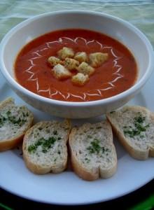 crema de tomate w