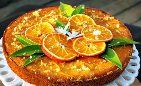 torta de naranja