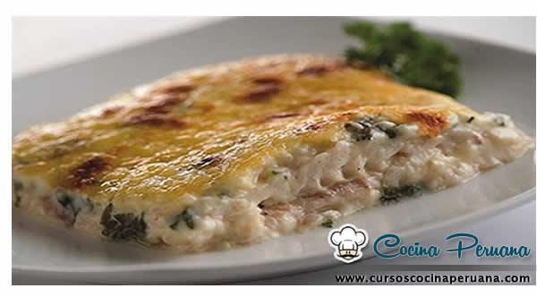 Receta de pescado a la florentina